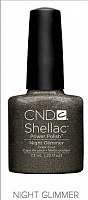 Гель лак  CND Shellac Night Glimmer 7.3 мл