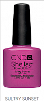 Гель лак  CND Shellac Sultry Sunset 7.3 мл