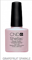 Гель лак  CND Shellac Grapefruit Sparkle 7.3 мл
