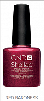 Гель лак  CND Shellac Red Baroness 7.3 мл
