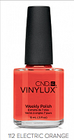 Лак для ногтей  CND Vinylux #112 Electric Orange 7.3 мл