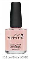 Лак для ногтей  CND Vinylux #126 Lavishly Loved 7.3 мл
