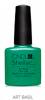 Гель лак  CND Shellac Art Basil 7.3 мл