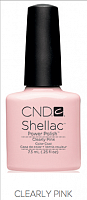 Гель лак  CND Shellac Clearly Pink 7.3 мл