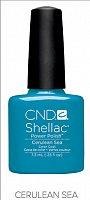 Гель лак  CND Shellac Cerulean Sea 7.3 мл